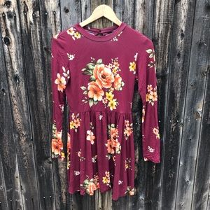 Fit and Flare Flower Dress